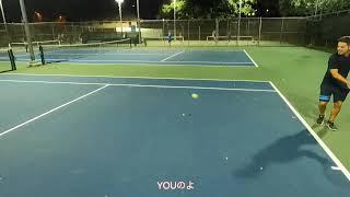 ハワイでテニス🎾「ローカルが行くテニス」Tennis in Hawaii