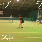 【テニス】ラリー&ボレスト勝負atインスピリッツテニスクラブ【tennis】
