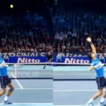 Novak Djokovic Serve Center or Wide  ジョコビッチのサーブ、コース打ち分け2