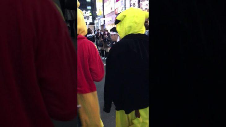 渋谷ハロウィン🎃に錦織圭が素振りしてたwwガチ