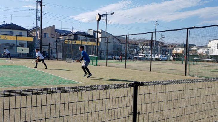 【テニス】2020.12.06 この動画はクリエイティブ・コモンズです(6)