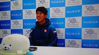 5日に行われるWOWOW開局30周年記念テニスフェスティバルに登場する日本男子のエース、錦織圭(30=日清食品)が4日、オンラインで会見を開き、来年に向けて「… – 日刊スポーツ新聞社のニュースサイト