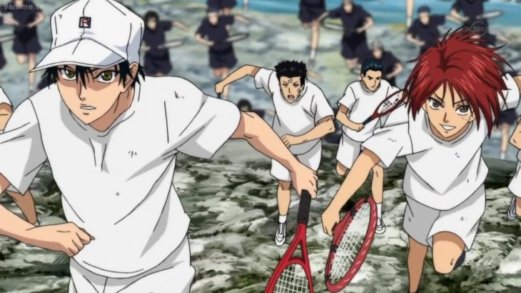 テニスの王子様 #7 ||  テニスの王子様 最高の瞬間 トリプルカウンター   || The Prince of Tennis