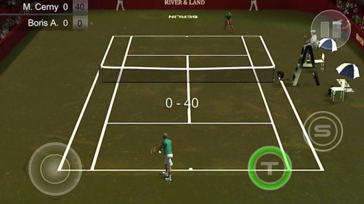 懐かしのテニスゲームやってみた。[Cross Court Tennis]