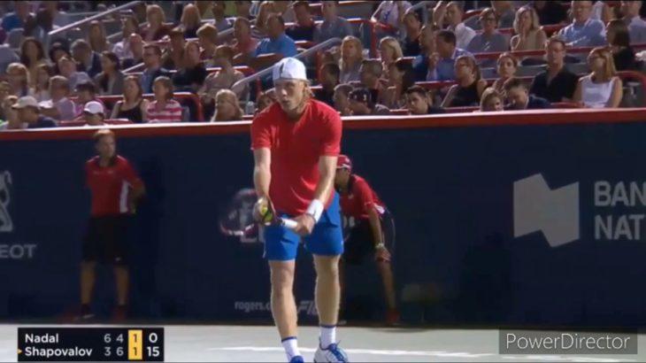 Denis Shapovalov vs Rafa Nadal   Highlights      Tennis 網球 テニス  网球