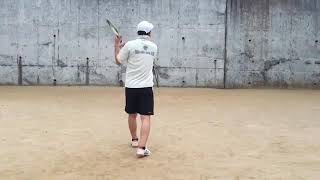 <『F N TENNIS CONSULTING』<CEO>>2020/12/10(木)17:00~17:30【S PRIVATE】初めて感覚レベルで出来た『壁ソフトテニス』『CAMERA(2)』