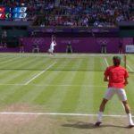 Federer (フェデラー) VS Beneteau London 2012