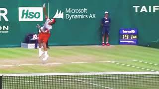 【Federer】フェデラー サービス キックサーブ kick serve