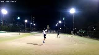 外人テニス : Foreigners Playing Doubles Tennis in Tokyo!