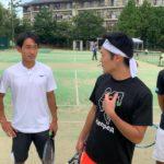 [豪華ゲスト登場?!]森田テニススクール学園前でハードワーク|Hard work at morita tennis school