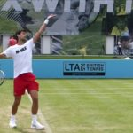 Karen Khachanov and Novak Djokovic Comparison ジョコビッチとハチャノフの動画