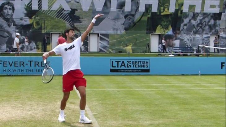 Karen Khachanov and Novak Djokovic Comparison ジョコビッチとハチャノフの動画