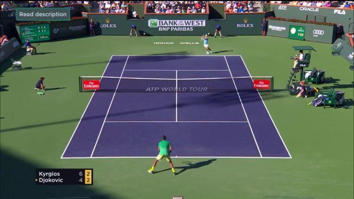 Kyrgios (キリオス)VS Djokovic (ジョコビッチ)