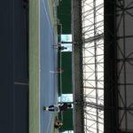【MSK】優勝目指すぜ‼️俺たちのダブルス・テニス練習風景【テニス・室内ハードコート】#Shorts
