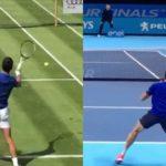 Milos Raonic and Novak Djokovic Comparison ジョコビッチとラオニッチの動画