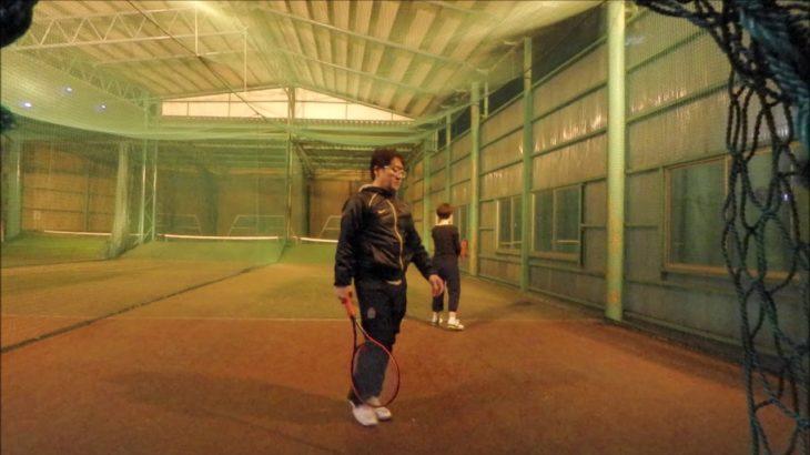 #TENNIS  #50's #Woman #Practice 20201205-4 #テニス #練習 #boonee2 #サーブ #オート #serve #service