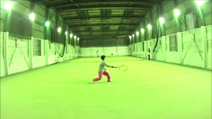 #TENNIS  #50s #Woman #Practice 20201209-2 #テニス #練習 #boonee2 #フォアハンド #forehand #lesson by #nee