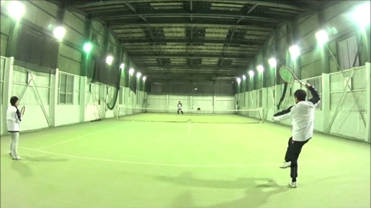 #TENNIS  #50s #Woman #Practice 20201216-2 #テニス #練習 #boonee2 #ミニラリー #rally #lesson by #nee #練習会