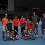 ✅  錦織圭選手:初の試合解説に緊張 車いす・国枝慎吾選手とダブルスも WOWOWテニスフェスティバル2020