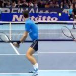 Novak Djokovic Backhand Direction Cross or Inside out ジョコビッチのバックハンドコース打ち分け クロスと逆クロス