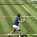 Yannik Sinner or Novak Djokovic Forehand Comparison ジョコビッチ、シナーのフォアハンド比較