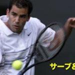 【テニス】史上最強サーブアンドボレーヤーによる、完璧なボレーポイント集【ボレー】tennis serve and volley