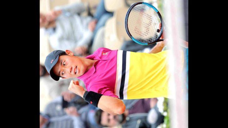 ✅  男子テニスの錦織圭(30)=日清食品=が「観月あこ」の芸名で活動した元モデル、山内舞さん(29)と11日に結婚したと18日、自身の公式アプリで発表した。4大大会の全米オープンで準優勝した2014