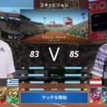 ティームvsチチパス 【テニス ワールドツアー 2】特別エキシビションマッチ  「Tennis World Tour 2」Dominic Thiem vs Stefanos Tsitsipas