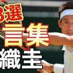 【名言集】錦織圭/シングルスとしては日本男子史上初の世界ランキングトップ10入りを果たした