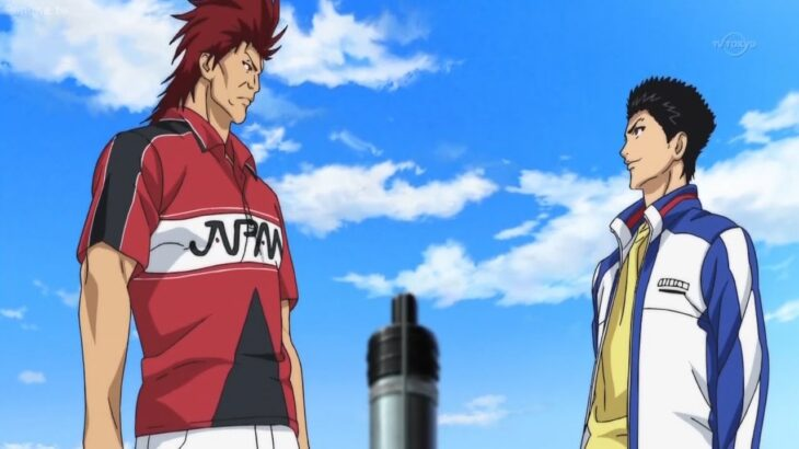 新テニスの王子様 フルエピソード#2 – 桃城武は鬼十二郎に惨めに負けた – Momoshiro vs Jujiroh Oni –  The Prince of Tennis II Full HD