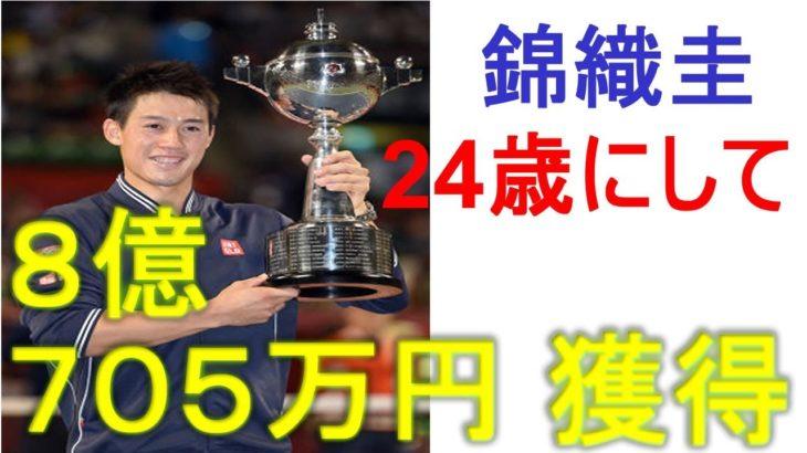【優勝】錦織圭「楽天ジャパンオープン2014」ラオニッチを破り2年ぶり2度目!