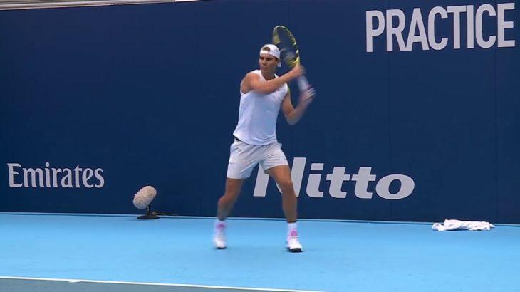 2019年Nitto ATPファイナルズ・プラクティス ラファエル・ナダル(Rafael Nadal)/ドミニク・ティエム(Dominic Thiem)
