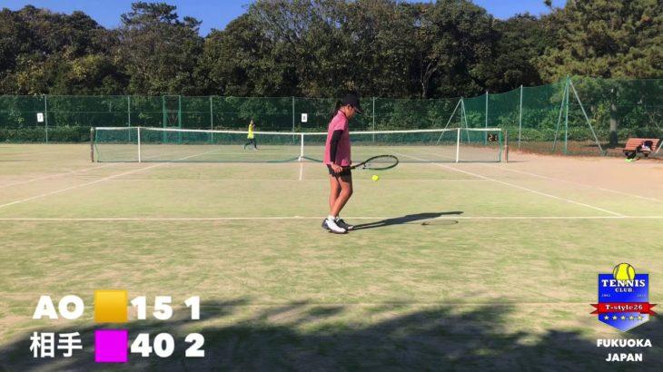 学年別テニス大会 2020.12.6 海の中道テニスコート AO.