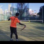 テニス 2:1ストローク練習 全日本ベテランテニス選手 東京都チャンピオンシップ インカレ
