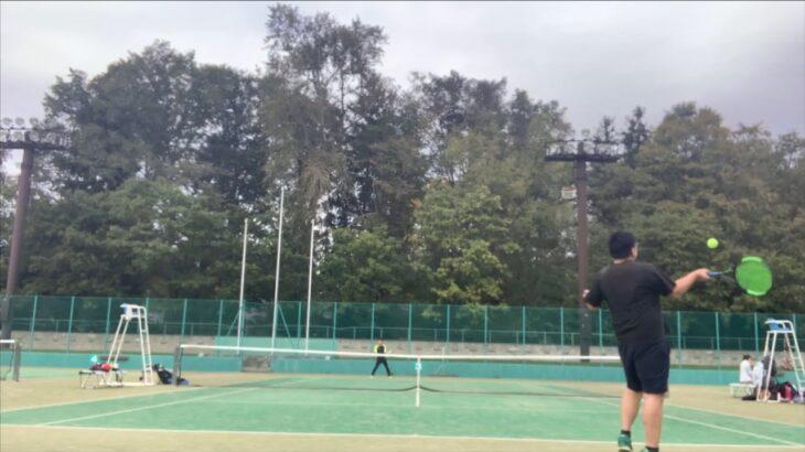 硬式テニスを始めて30分でこのショット
