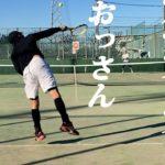 【テニス】S市民大会45歳以上男子シングルス優勝経験者とのシングルス練習試合!2020年12月下旬【TENNIS】
