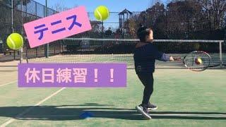 4歳 Tennis  1/10 休日練習