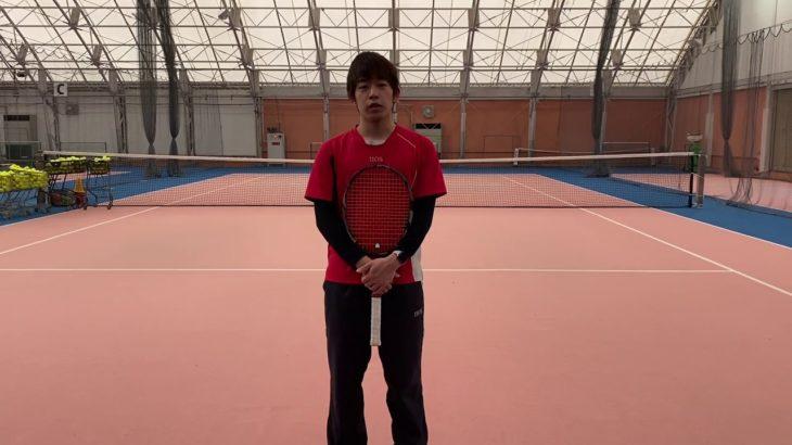 石川コーチに対抗!フラットサーブで的当て!【HOS TENNIS】