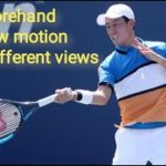 Kei Nishikori (錦織 圭) Forehand Practice Slow Motion 0.2X 0.5X From different views