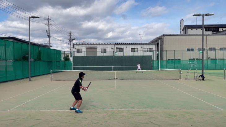 【MSK】外側へ逃げるサイドスピンフォアハンドストローク【テニス】