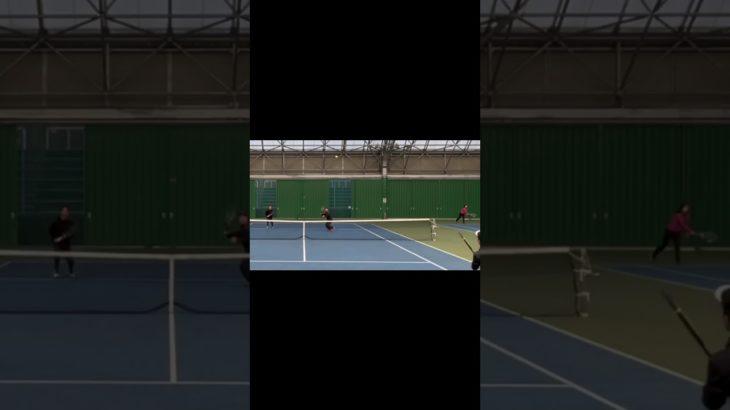 【テニス】超かっこいいダンクスマッシュ#Shorts