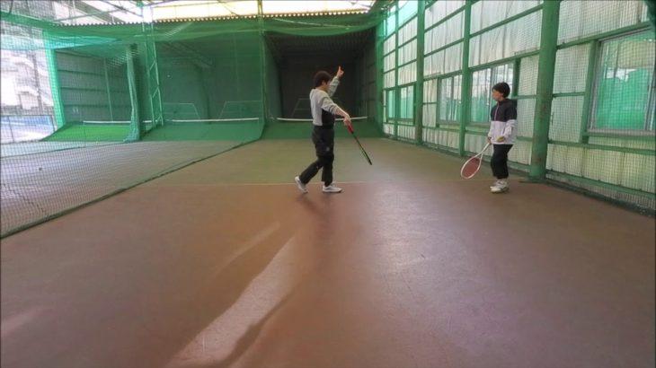 #TENNIS  #50s #Woman #Practice 20210106-5 #テニス #自主練習 #サーブ #serve #boonee2 #オートテニス #練習風景