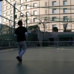 Tokyo hilton hotel tennis session テニス レッスン 東京