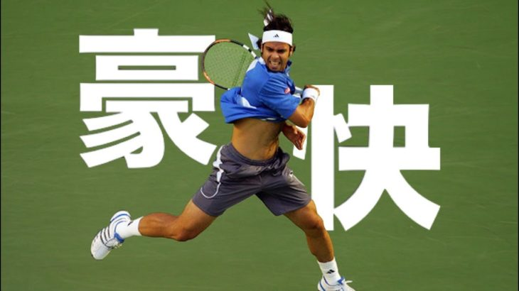 【テニス】フェルナンドゴンザレスのフォアハンド解説