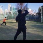 テニス ボレーストローク練習 全日本ベテランテニス選手 東京都チャンピオンシップ インカレ