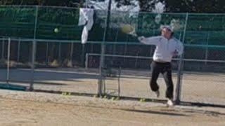 <『F N TENNIS CONSULTING』<CEO>>2021/2/11(祝木)17:45~18:15【T PRIVATE】良い感覚の再現性を高める為のニュアンス改良を目指し『壁テニス』した。