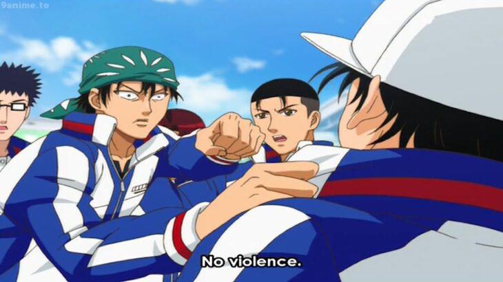 テニスの王子様 OVA 全国大会編 Final フルエピソード#3 – 龍馬が殴った。 最高のダブルスバトルが始まる – Ryoma punched The best doubles battle