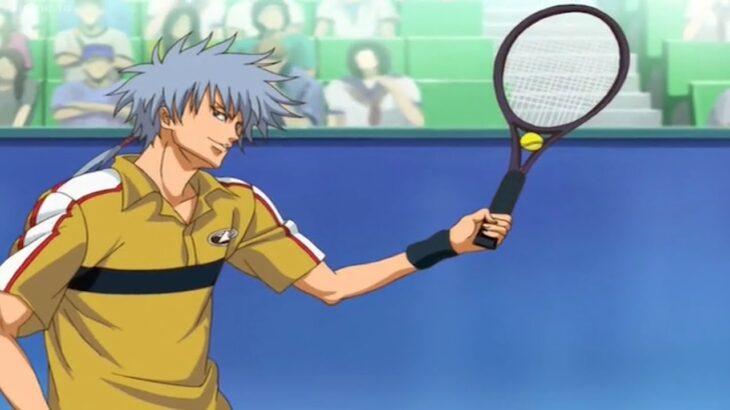 テニスの王子様 OVA 全国大会編 Final フルエピソード#4 – 仁王 雅治が富士に対して手塚に変身 – Masaharu Niou transforms into
