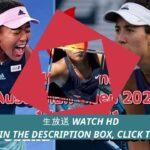 TENNIS@!* 大坂なおみ VS G・ムグルサ ライブ 全豪オープンテニス2021