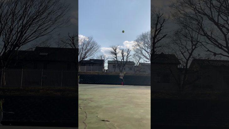 【壁打ちテニス】今まで利き手を間違えてたっぽい